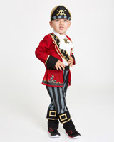 red Pirate Costume