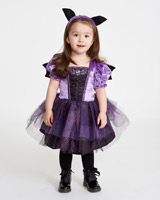 purple Spooky Bat Costume