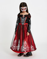 red Skeleton Princess Costume