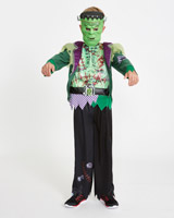 green Boy Frankenstein Costume