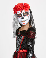 black Day Of The Dead Mask