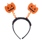 black Pumpkin Headband