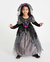 grey Gothic Bride Costume