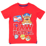 red Boys Paw Patrol T-Shirt