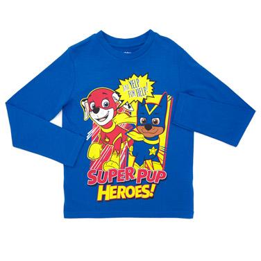 9970d432b blue Boys Paw Patrol T-Shirt With Cape