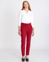 red Carolyn Donnelly The Edit Slim Trousers