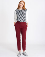 port Carolyn Donnelly The Edit Tailored Trouser