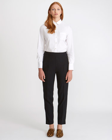 blackCarolyn Donnelly The Edit Elastic Tailored Trousers