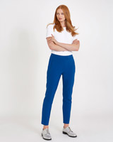 blue Carolyn Donnelly The Edit Skinny Crop Trousers