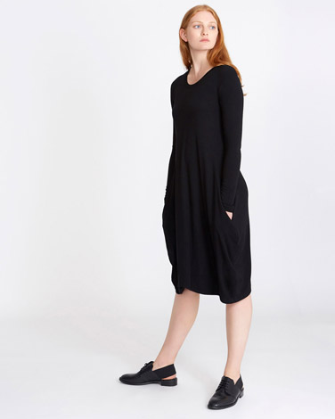 blackCarolyn Donnelly The Edit Jersey Dress