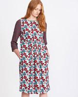 printCarolyn Donnelly The Edit Mixed Print Dress