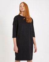 black Carolyn Donnelly The Edit Sweater Dress