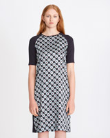 black Carolyn Donnelly The Edit Print Dress