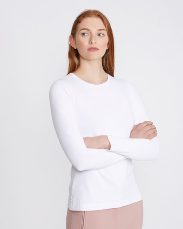 white Carolyn Donnelly The Edit Meryl Top