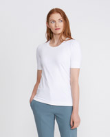 white Carolyn Donnelly The Edit Meryl T-Shirt