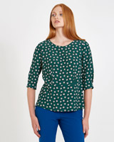 print Carolyn Donnelly The Edit Geo Print Top
