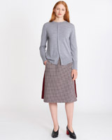 port Carolyn Donnelly The Edit Check Skirt