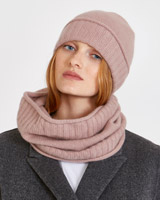 rose Carolyn Donnelly The Edit Cashmere Hat