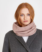 rose Carolyn Donnelly The Edit Cashmere Snood