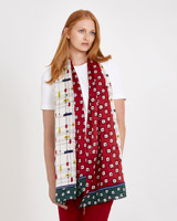 print Carolyn Donnelly The Edit Silk Print Scarf