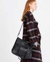 black Carolyn Donnelly The Edit Two Way Tote Bag