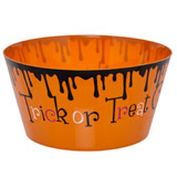 orange Trick Or Treat Bowl