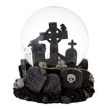 blackGraveyard Snow Globe