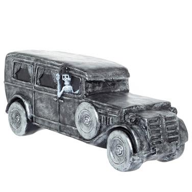 Skeleton In Car