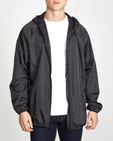 black Rain Jacket In A Bag