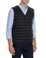 black Superlight Popper Gilet