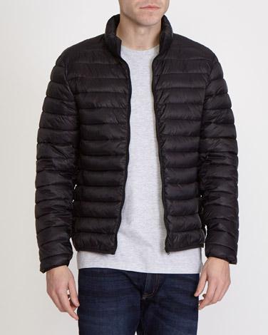blackSuperlight Funnel-Neck Jacket