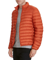 orange Superlight Funnel-Neck Jacket