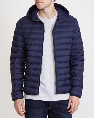 navySuperlight Hooded Jacket