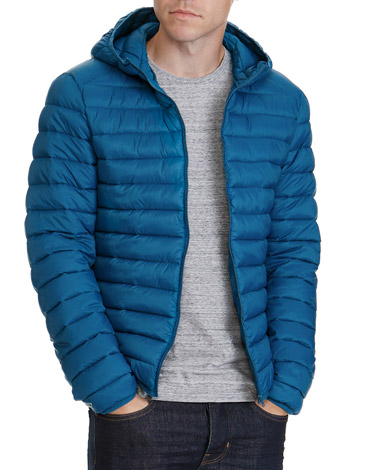 tealSuperlight Hooded Jacket
