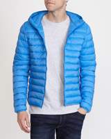 light-blue Superlight Hooded Jacket