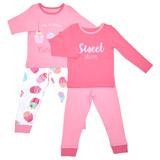 pinkGirls Pyjamas - Pack Of 2