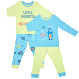 limeBoys Pyjamas - Pack Of 2