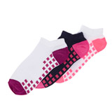 purple Girls Performance Trainer Socks - Pack Of 3
