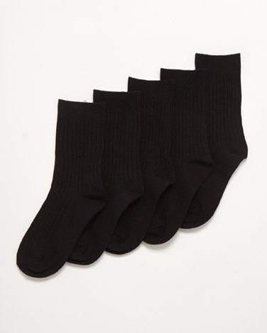 Boys School Socks - Pack Of 5