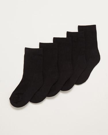 Boys Comfort Socks - Pack Of 5