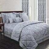 silver Ceres Duvet Set