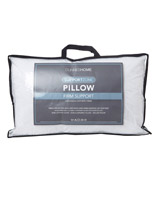 white Support Zone Firm Pillow
