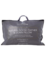 white Goose Feather And Down Pillow