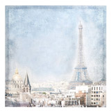 multi Paris Scene Canvas
