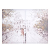 natural Rome Scene Canvas