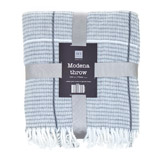 grey Modena Throw
