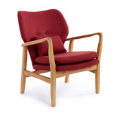 burgundy Stockholm Chair