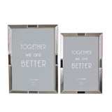 silverArt Deco Frame