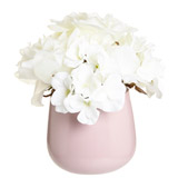 pinkRose Hydrangea Pot