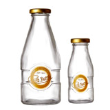 clear Kilner Milk Bottle